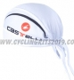 2013 Castelli Scarf Cycling White