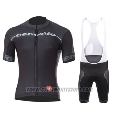 2016 Cycling Jersey Castelli Cervelo and Black Short Sleeve and Bib Short d4846680b