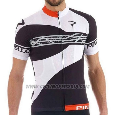 2016 Cycling Jersey Pinarello White and Marron Short Sleeve and Bib Short