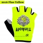 2016 Saxo Bank Tinkoff Gloves Cycling Yellow