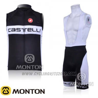 2016 Wind Vest Castelli White and Black