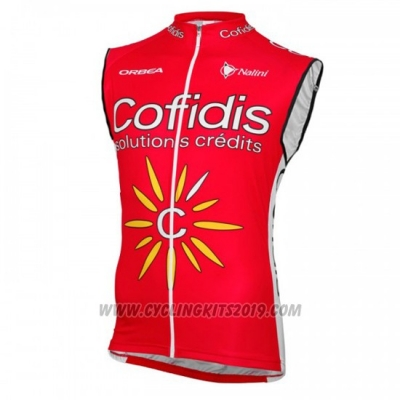 2016 Wind Vest Cofidis Yellow and Red
