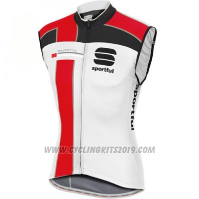 2016 Wind Vest Sportful Red and White