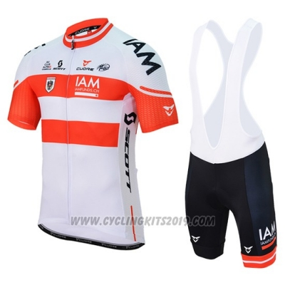 2017 Cycling Jersey IAM Campione Austria Short Sleeve and Bib Short