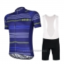 2017 Cycling Jersey Vold Blue Short Sleeve and Bib Short