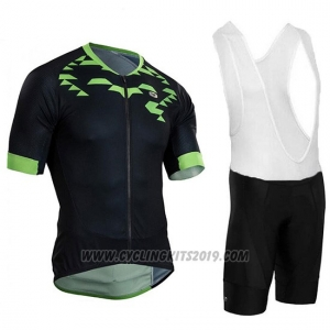 dc6b30fce 2018 Cycling Jersey Sugoi RS Training Black and Green Short Sleeve and Bib  Short
