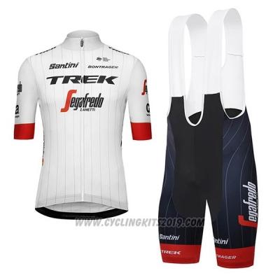 2018 Cycling Jersey Trek Segafredo Tour de France White Red Short Sleeve  and Bib Short 39b8c48db
