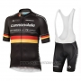2019 Cycling Jersey Cannondale Shimano Champion Germany Short Sleeve and Bib Short