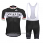 2019 Cycling Jersey Colnago White Black Short Sleeve and Bib Short