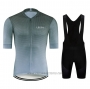 2020 Cycling Jersey Le Col Gray Short Sleeve and Bib Short