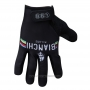 2014 Bianchi Full Finger Gloves Cycling Black