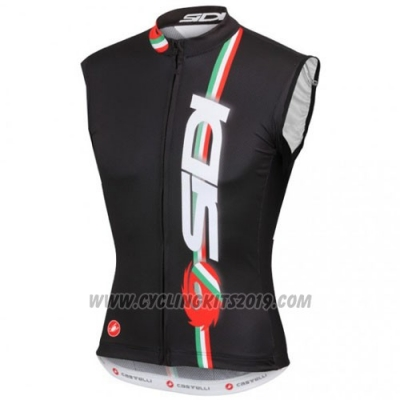 2014 Wind Vest SIDI Black and Red