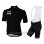2016 Cycling Jersey Lotto Soudal Black Short Sleeve and Bib Short