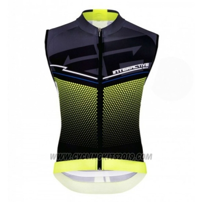 2016 Wind Vest Santini Black and Yellow