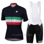 2017 Cycling Jersey Sportful Campione Italy Short Sleeve and Bib Short