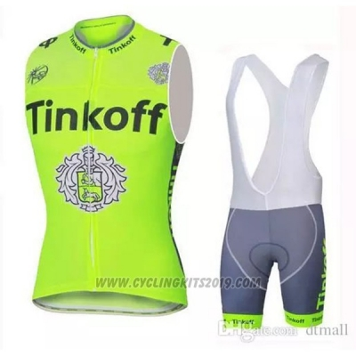 2019 Wind Vest Tinkoff Green
