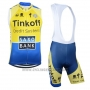 2019 Wind Vest Tinkoff Saxo Bank Yellow Blue