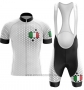 2020 Cycling Jersey Italy White Short Sleeve and Bib Short (4)