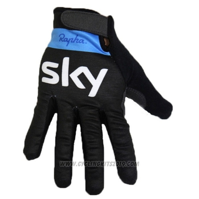2020 Sky Full Finger Gloves Black
