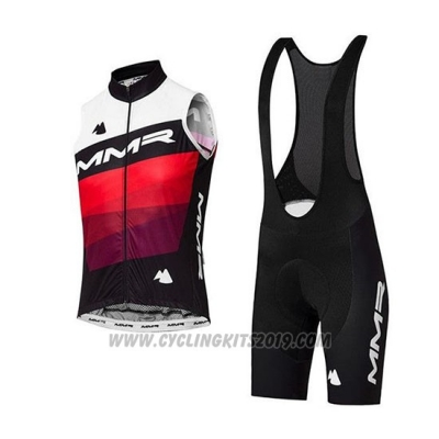 2020 Wind Vest MMR White Black Red