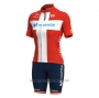 2021 Cycling Jersey Women Movistar Champion Denmark Short Sleeve and Bib Short