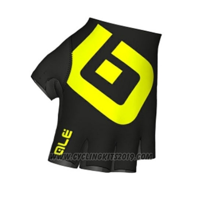 Ale Gloves Cycling Yellow