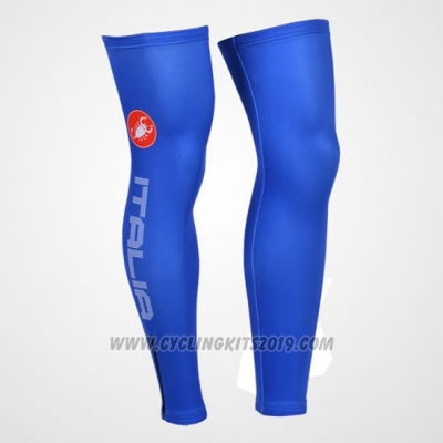 2013 Castelli Leg Warmer Cycling Blue