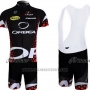 2013 Cycling Jersey Orbea Black and Red Short Sleeve and Bib Short