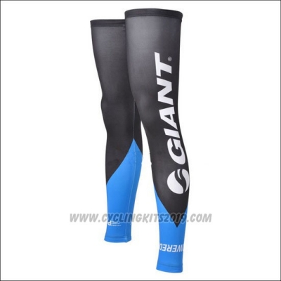 2013 Giant Leg Warmer Cycling Blue and Black