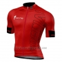 2016 Cycling Jersey Specialized Bright Red and Black 1 (2) Short Sleeve and Bib Short