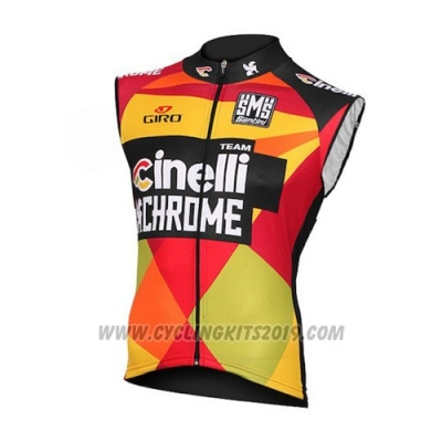 2016 Wind Vest Cinelli Yellow