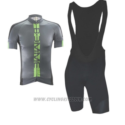2017 Cycling Jersey Biemme Poison Green Short Sleeve and Bib Short