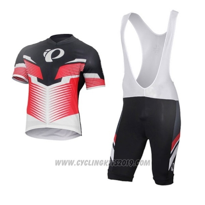 2017 Cycling Jersey Pearl Izumi White and Red Short Sleeve and Bib Short
