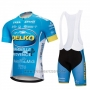 2018 Cycling Jersey Delko-marseille Provence Ktm Short Sleeve and Bib Short