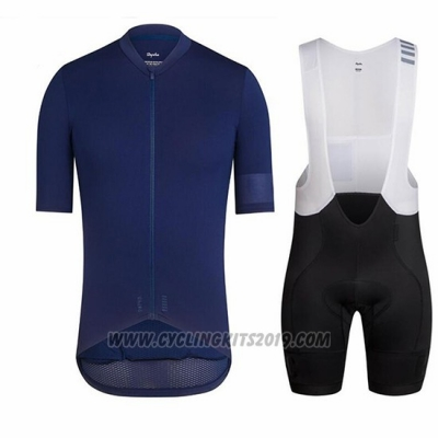 2018 Cycling Jersey Ralph Blue Deep Short Sleeve and Bib Short