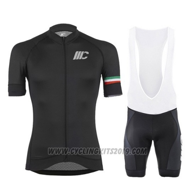 2019 Cycling Jersey Cipollini Black Short Sleeve and Bib Short