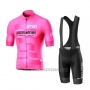 2019 Cycling Jersey Giro D'italy Pink Short Sleeve and Bib Short