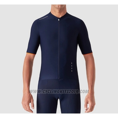 2019 Cycling Jersey La Passione Blue White Short Sleeve and Bib Short