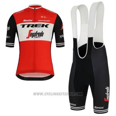 5555db3b0 2019 Cycling Jersey Trek Segafredo Red White Short Sleeve and Bib Short