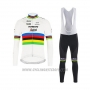 2020 Cycling Jersey UCI World Champion Trek Segafredo Long Sleeve and Bib Tight