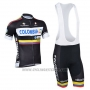2013 Cycling Jersey Nalini Black Short Sleeve and Salopette