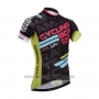 2014 Cycling Jersey Fox Cyclingbox Black Short Sleeve and Bib Short
