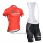 2014 Cycling Jersey Giro D'italy Red Short Sleeve and Bib Short