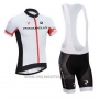2014 Cycling Jersey Pinarello Black and White Short Sleeve and Bib Short