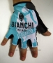 2015 Bianchi Gloves Cycling Black and White