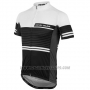 2016 Cycling Jersey Pearl Izumi Black and White Short Sleeve and Bib Short