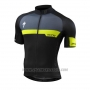 2016 Cycling Jersey Specialized Yellow and Black Short Sleeve and Bib Short