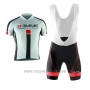 2017 Cycling Jersey Biemme Identity White and Red Short Sleeve and Bib Short