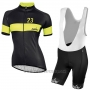 2017 Cycling Jersey Women Nalini Nemina Black Short Sleeve and Bib Short