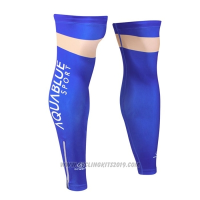 2018 Aqua Bluee Sport Leg Warmer Cycling